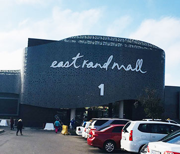South Africa Cape Town east rand shopping center