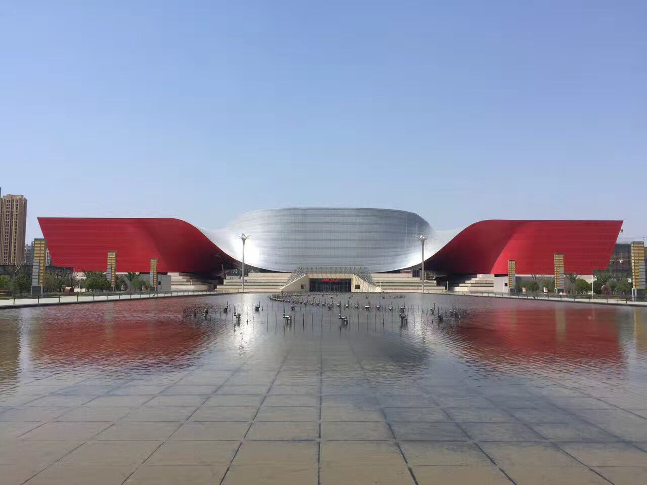 Wuhan city,International Convention and Exhibition Center