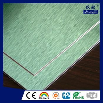 Brushed Aluminum composite panel ACP