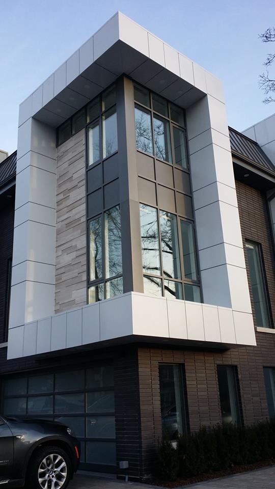 wood grain aluminium composite panel